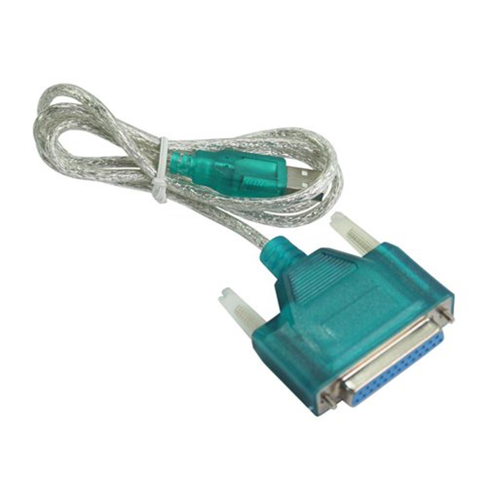 UESH! USB to Printer DB25 25-Pin Parallel Port Cable Adapter(China (Mainland))