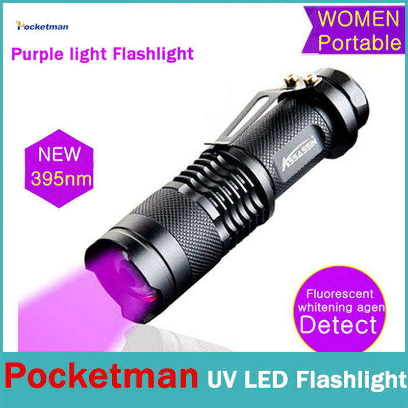 CREE Q5 flashlight uv led light tactical torch uv lamp zaklamp iluminacion linternas lampe torche powerful led flashlight 14500(China (Mainland))