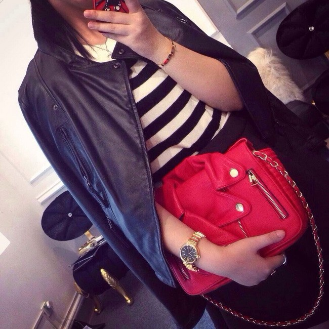 Classic Ladies Shoulder Bag Motorcycle Messenger Bags Casual Brand