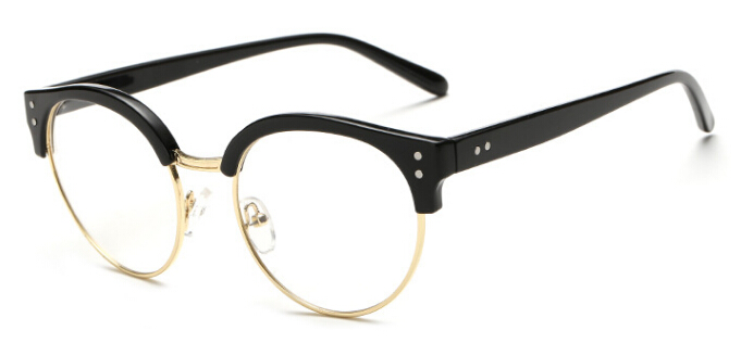 New Fashion Glasses Frame Male Female General Glasses Retro Style Brow Frame Specialized Glasses(China (Mainland))