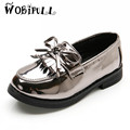 WOBIPULL 2017 Spring and autumn children s leather shoes girls British style tassel shoes students casual