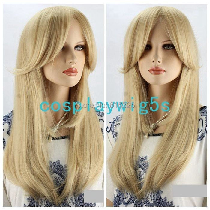 D&amp;M3259&gt;&gt;&gt;&gt;CCosplay Wig Sexy Woman Fashion Wig Blonde Wig Long Straight Hair Wigs <br><br>Aliexpress