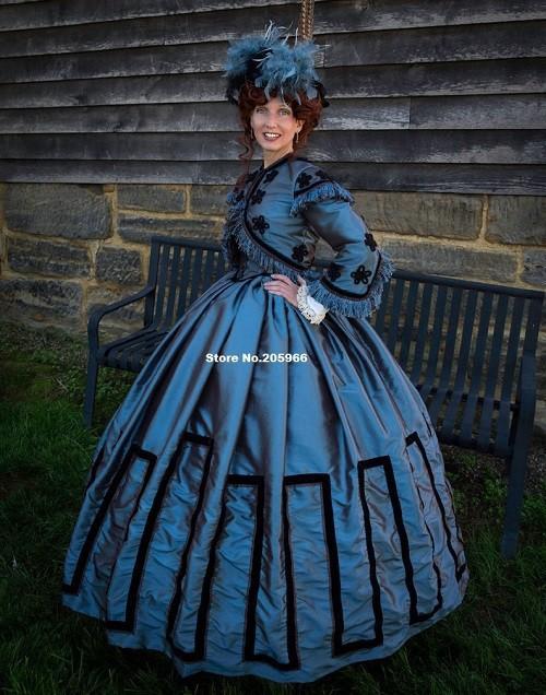1800s Party Dresses 41