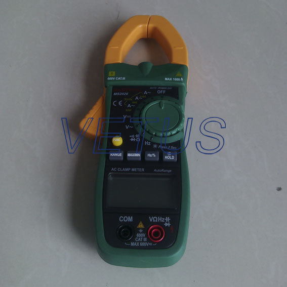 Free shipping MASTECH MS2026 ADP CAP 42mm AC Digital Clamp Meter auto range<br><br>Aliexpress