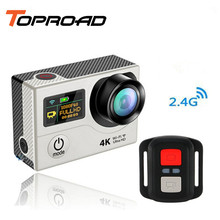 Upgrade Eken H3 H3R Action camera Ultra HD 4K Video Sports Cameras With 2.4G Remote Control 2-inch Dual Screen Mini Camcorder