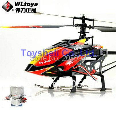 Бесплатная Доставка WLtoys V913 2.4 Г 4ch одного винта вертолет 70 см Встроенный Гироскоп WL v913 игрушки r/c вертолет модель