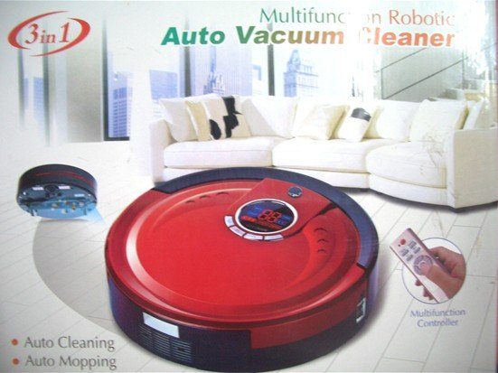 Li-ion Battery The 3 In Multifunction Automatic Intelligent Vacuum Cleaner M-788 +UV lights+Remote Controller(China (Mainland))