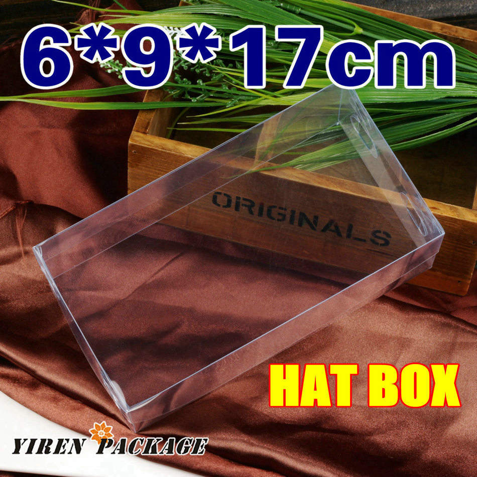 6*9*17cm hat box / top half and bottom half / clear package box/ gift packing / wedding favor / gifts & crafts / 100% guarantee(China (Mainland))