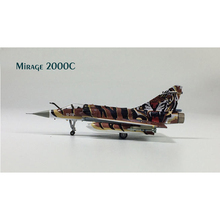 Hogan 1:200 Mirage 2000C Tiger Painted The European Community Fighter Model Toys & Hobbies(China (Mainland))