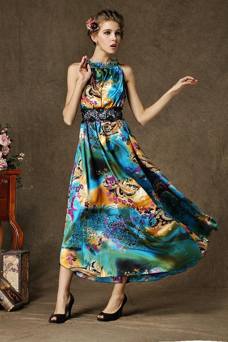 Satin Summer Dresses