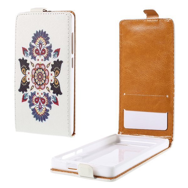 For huawei G6 4g case Cross Pattern Leather Vertical Case for Huawei Ascend G6 4G(China (Mainland))