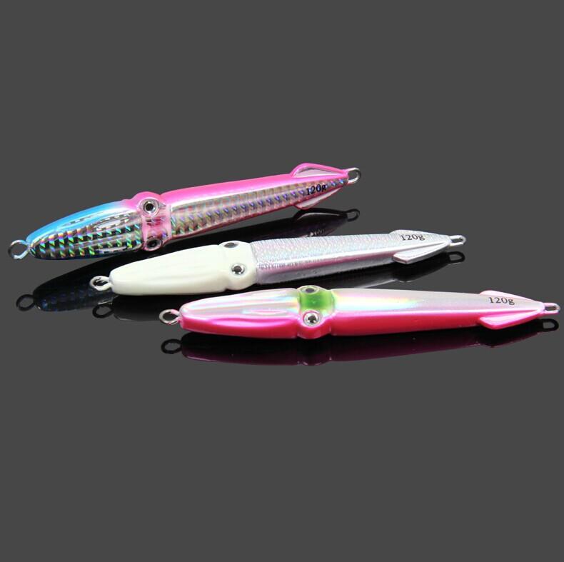 SeaKnight Free Shipping Jig 120g 121mm knife Jigging Metal Spoon High Quality VIB artificial bait boat fishing lures lead fish(China (Mainland))