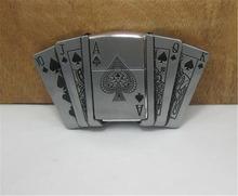 2015 fashion luxury men belt buckles metal poker lighter brand DIY mens designer belt buckles new year gifts free shipping CX523