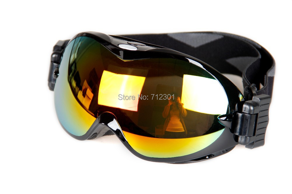 Bolle Nova Men & Women Snowboard Glasses,UV400 Skiing Goggles, Double Layers Lens No Foggy Wear Over RX Glasses(China (Mainland))