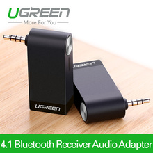 Ugreen  V4.1 Wireless Bluetooth Stereo Audio Music Receiver Adapter with Mic 3.5mm Plug Hands-free for Car AUX Home Headphone(China (Mainland))