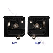 Universal 3D Printer Extruder Kit Right Side/Left Side Optional for Makerbot prusa Kossel ultimaker 1.75mm Filament PC Plastic