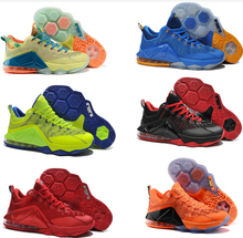 2015 NEW Lebrones 12 XII Low Mens Basketball shoes red LBJ 11 shoes elite sneakers athletic shoes Pre-Sale online(China (Mainland))