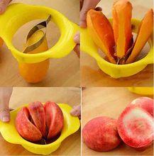 Home Kitchen Helper Tool Craft Mango Fruit Slicer Splitter Cutter Pitter Corer Splitters Mango Slicer Mango Cutter Fruit Knifes(China (Mainland))