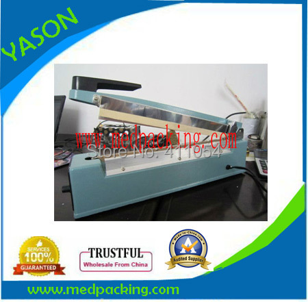300mm Manual Impulse Plastic Bag Sealer With Letter Imprinte_Band Heat Sealing Machine YS6719027c(China (Mainland))