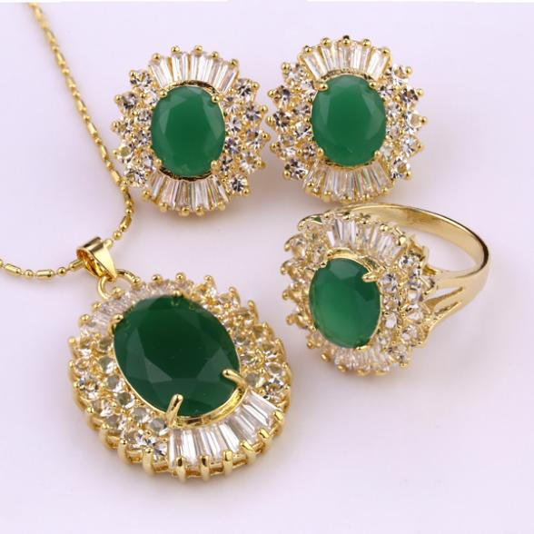 Necklace/ring/earring Gold
