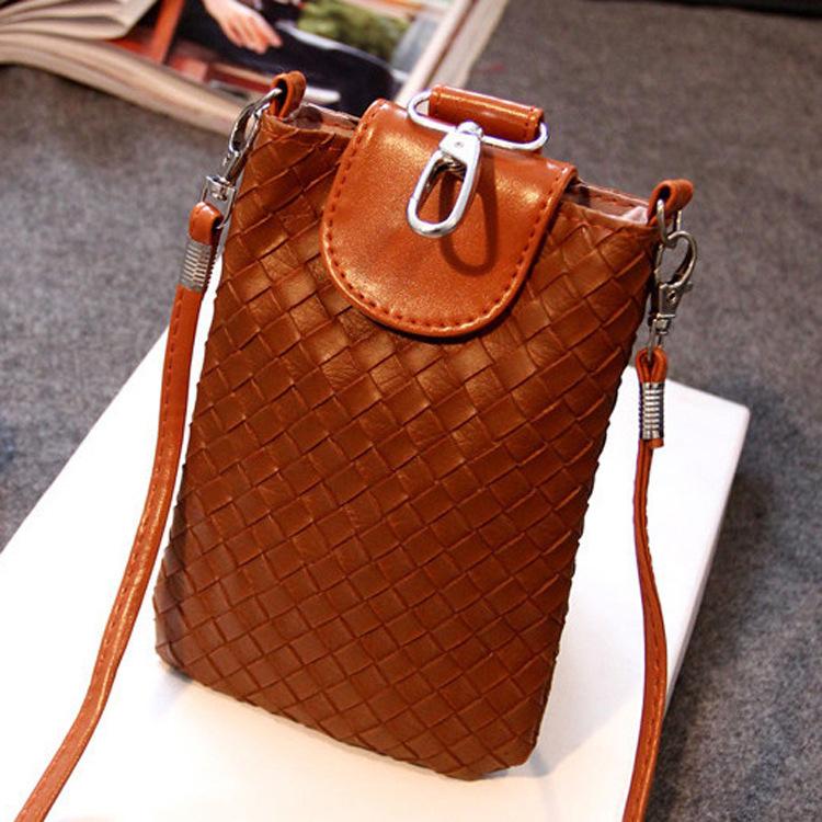 Fashion Women Mini Crossbody Bag Braided PU Leather Messenger Bags Trendy Handbags Spain Summer Coin Crossbody Bag Bolsas Dollar<br><br>Aliexpress