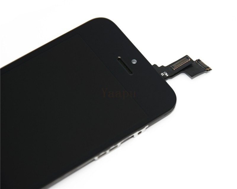 LCD-Replacement-For-Iphone-5C-lcd-screen-display-and-Touch-Screen-digitizer-Assembly-Black-color-with