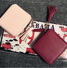 Fashion Women Wallets Genuine Leather Designer Interior Hasp Pocket Card Holder Purse Famous Brand Ladies Handbag carteras mujer