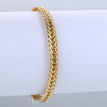 6MM 18K Rose Yellow White Gold Filled Necklace MENS Chain Womens Necklace Snake Chain Fashion Jewelry