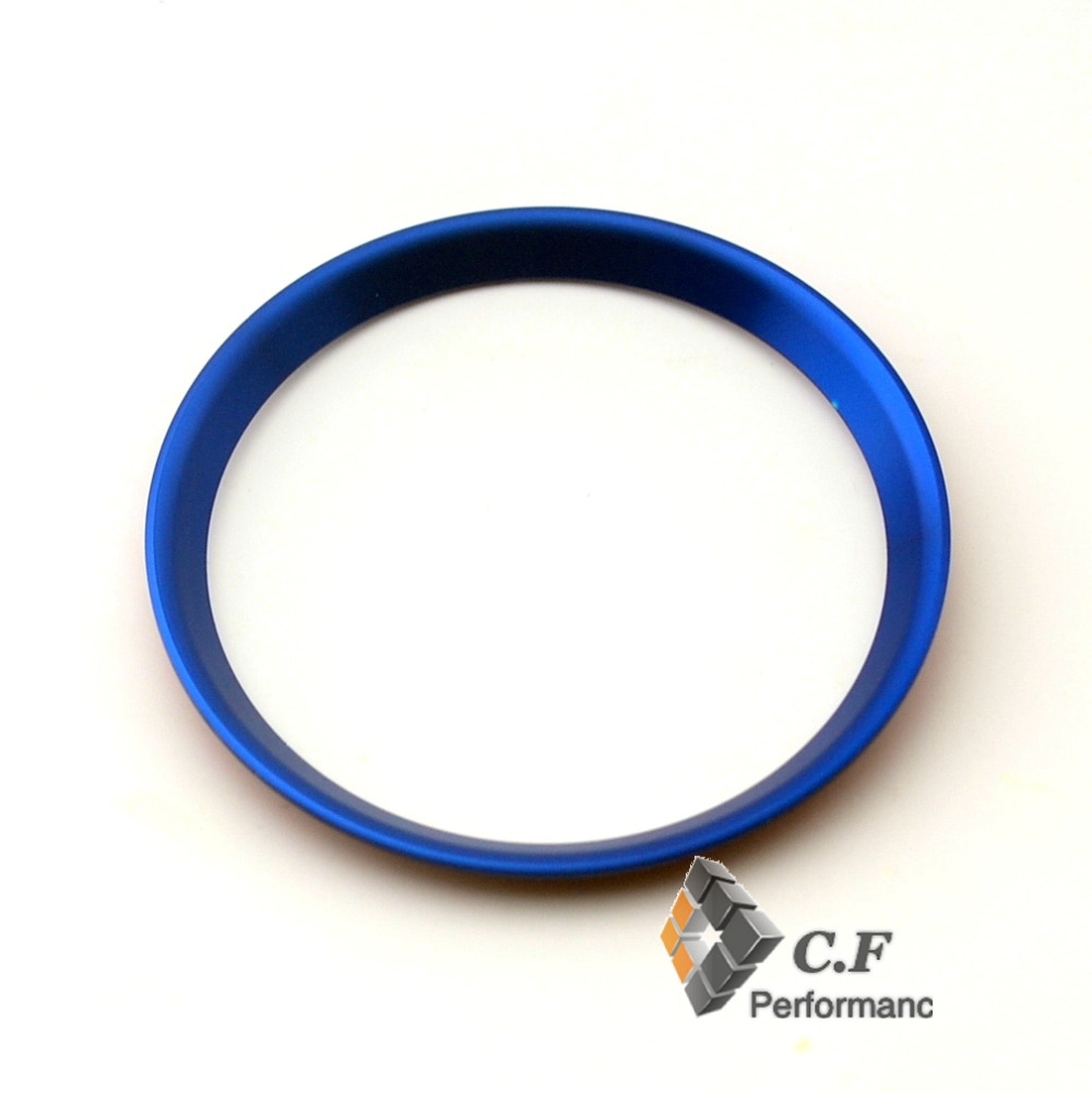 67/59mm Blue Chrome Aluminum Car Steering Wheel Cover Badge Emblem Decal for Mercedes Benz New C/B Class New GLA New GLC(China (Mainland))