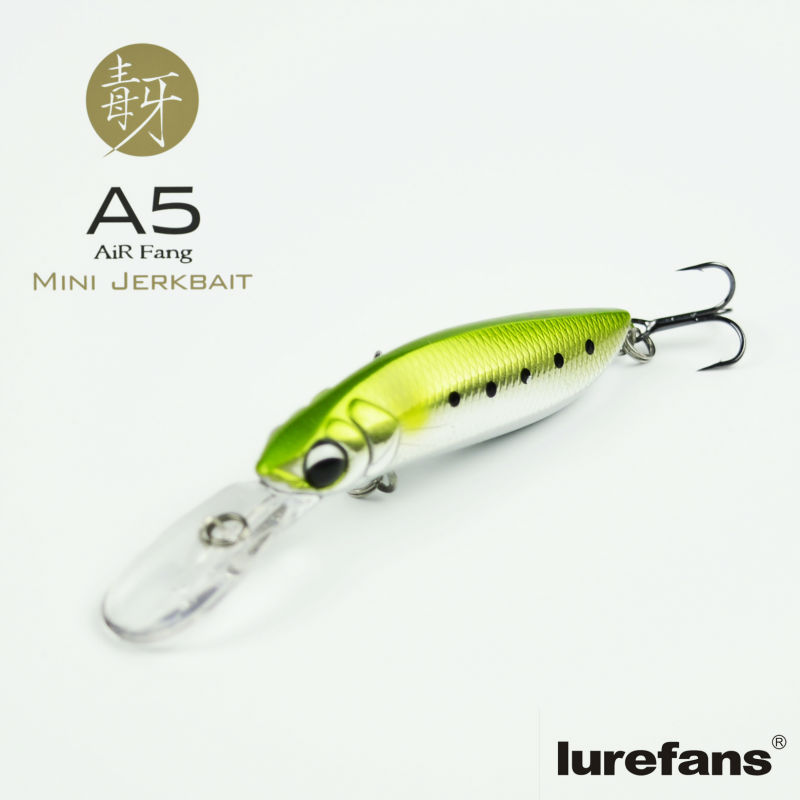2015 new style top quality mini jerkbait 50mm/4g topwater pencil lures artificiais bait fish peche de leurre minnow jerk baits(China (Mainland))
