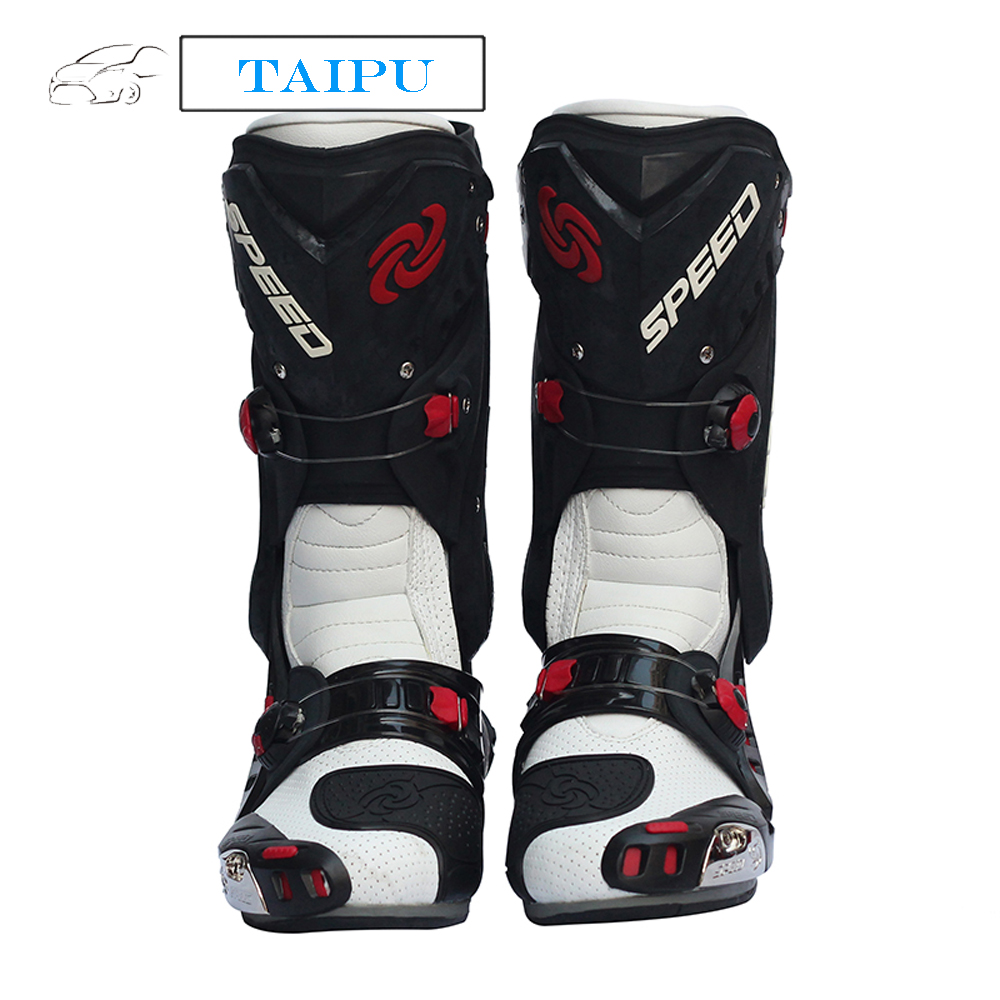 Motorcycle boots men motorboats motorbike boots motorcycle botas motocross botas moto racing boots Probiker speed 95541398(China (Mainland))