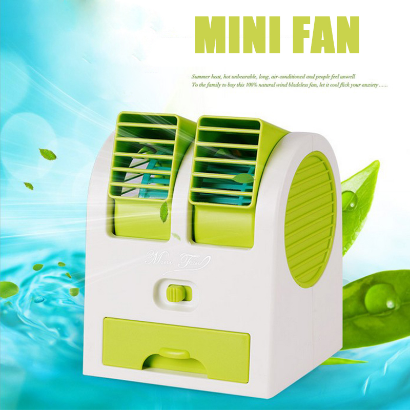New upgrade Mini portable hand held desk air conditioner humidification cooler cooling fan(China (Mainland))