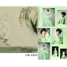 Photography Background Baby Painting Willow Peach Vinyl Photography Backdrops Photo Studio