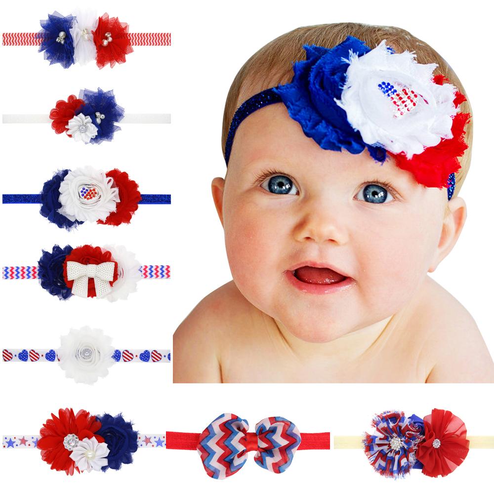 Baby Girl Rose Flower elastic headband Hair Ribbon children hair accessories(China (Mainland))
