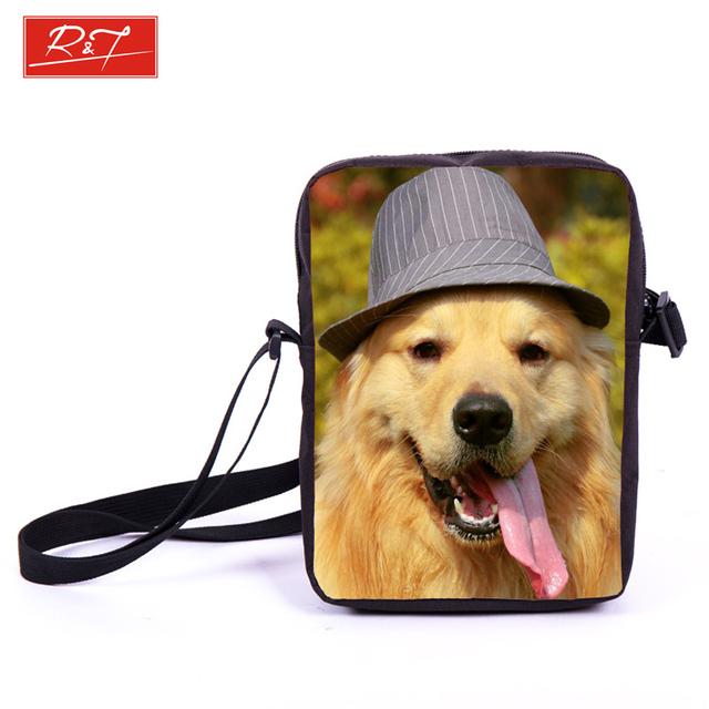 Марка животных собака лабрадор ротвейлер печатает женщины мини-сумка дети ранцы девушки ...