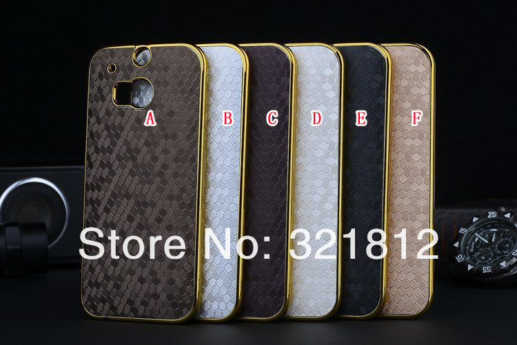 Football Square Cube Crazy Horse Hard Case For HTC ONE 2 M8 Luxury Bling PC Back Skin Cover Case 100PCS Free Shipping(China (Mainland))