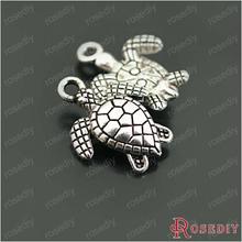 ( 26948-G ) 15 PCS 16 * 13 MM argent Antique plaqué alliage de Zinc Charms animaux mer tortue bricolage bijou accessoires Mini ordre $ 5(China (Mainland))