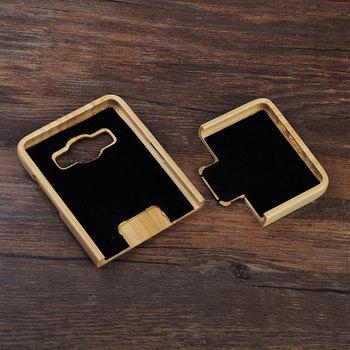 Etui plecki do Samsung Galaxy A3 bambusowy styl dwu częściowe