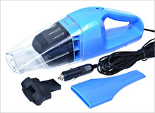 Blue High quality 100W car vacuum cleaner car vacuum cleaner car with wet and dry high-power 4.5 noodle(China (Mainland))