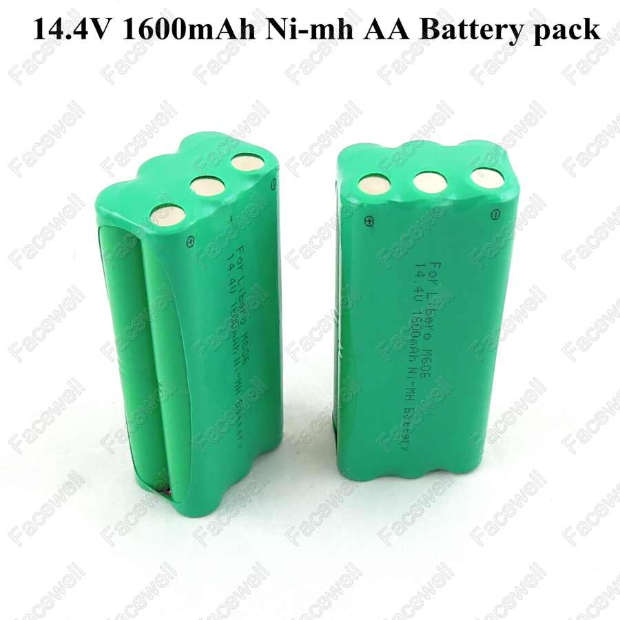 Battery 14.4v ni-mh rechargeable 14.4v AA 1600mah Nimh battery pack fo Papago S30C intelligent sweeping robot VONE T285D cleaner(China (Mainland))