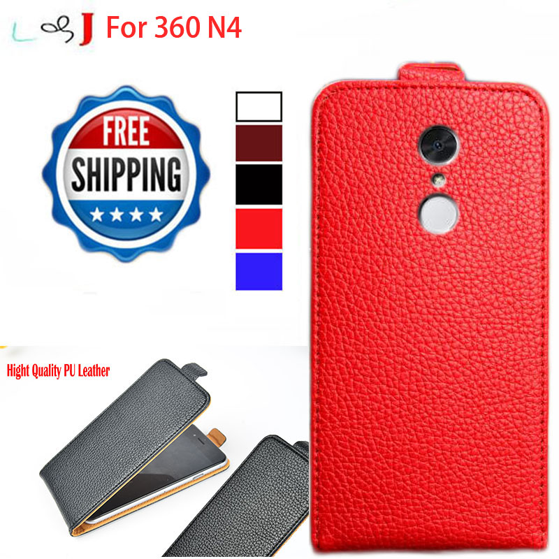 Factory Direct, Flip Pu Leather Case For 360 N4 4G Phone Case Cover Free Shipping