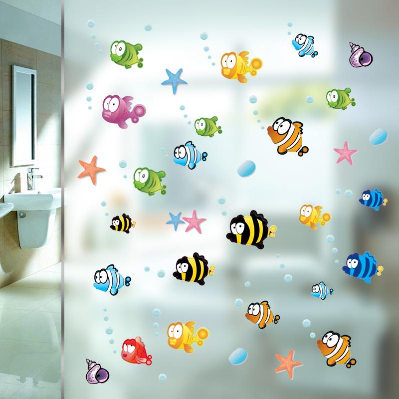 2016 new wall switch stickers cartoon decor decals children baby nursery room light sticker paper decor drop(China (Mainland))