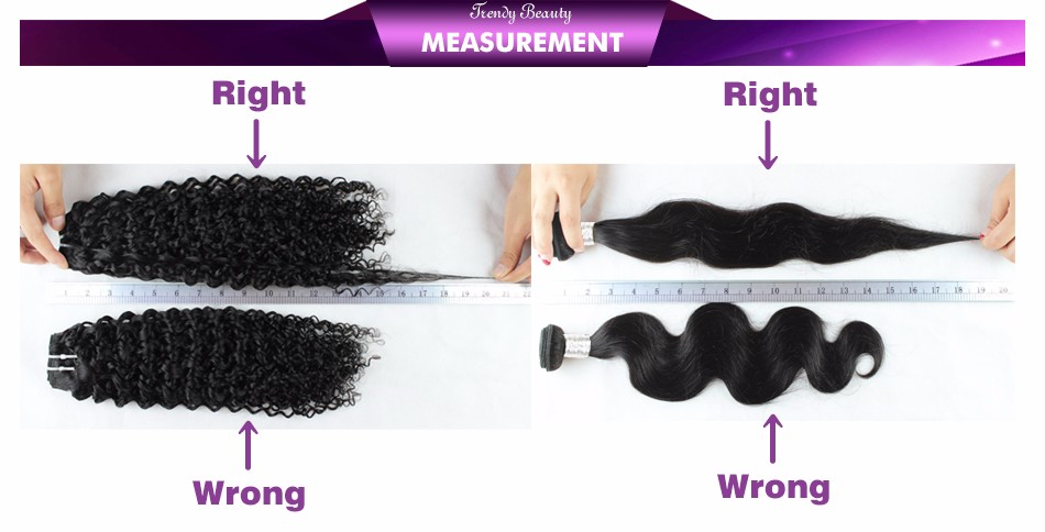 Trendy Beauty Brazilian Body Wave Hair Non-Remy human hair 8-26 inches natural black color free shipping 3 pcs per lot