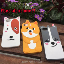 Buy 3D Cartoon ZOO Soft Silicone GEL Case Iphone 7 PLUS 7PLUS Iphone7 6 6S Pet Dog Cute Phone Rubber Skin Cover Fashion 100pcs for $167.78 in AliExpress store