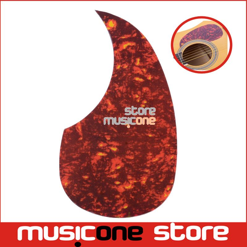 "Alice Acoustic Guitar Pickguard A025B 40"" 41"" 42"" R64mm Red Color Plastic Professional Pick Guard Sticker(China (Mainland))"