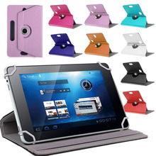 """For Archos 101D Neon 10.1""""Inch 360 Degree Rotating Universal Tablet PU Leather cover case Free(China (Mainland))"""