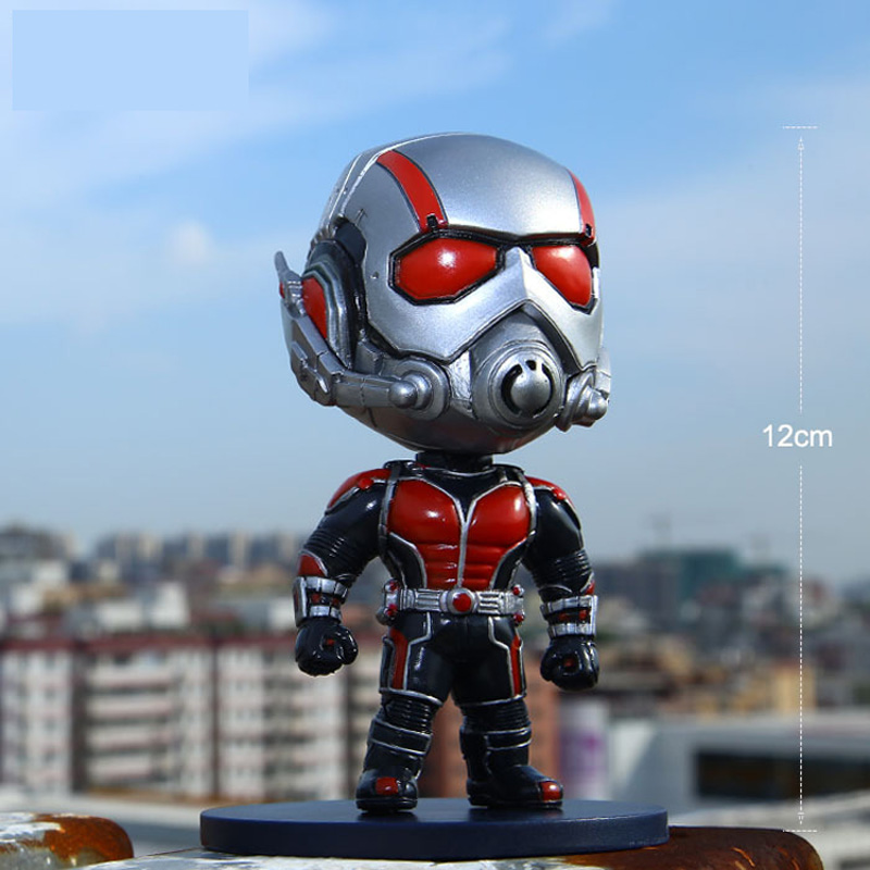 Marvel Ant man Antman PVC Action Figure Collectible Model Toy Christmas Gifts Car accessories 12cm Q Version Ant man Big Head-in Action & Toy Figures from Toys & Hobbies on Aliexpress.com | Alibaba Group