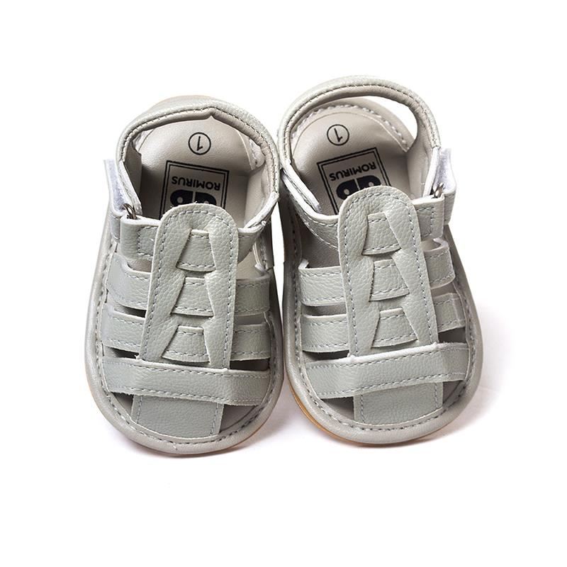 2016 Summer children shoes child male Kids PU leather child beach baby shoes size 11 12 13 L6(China (Mainland))