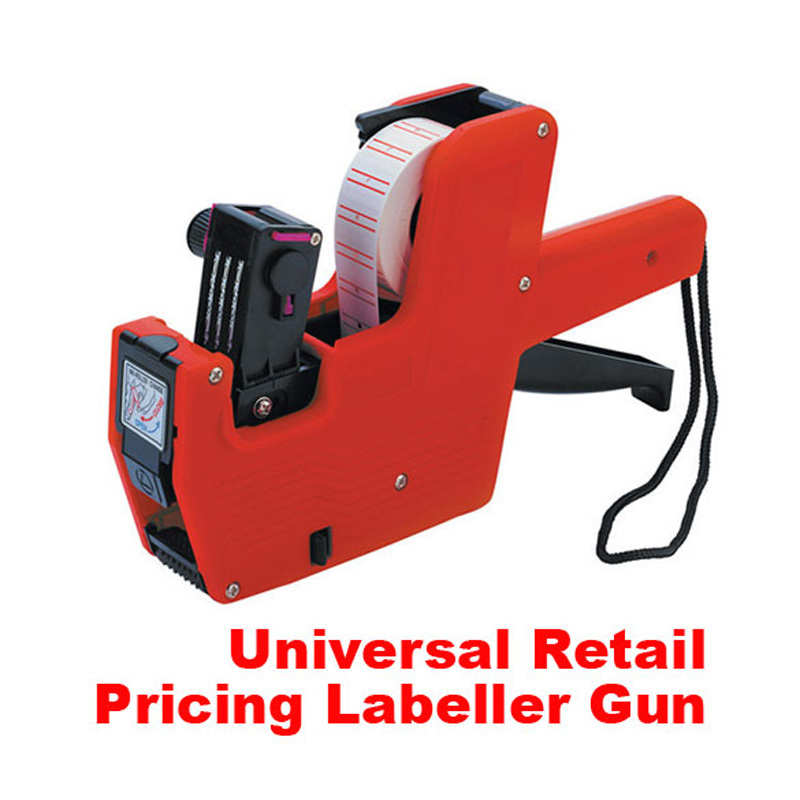New Price Label Tag Marker Pricing Gun Labeller J price label gun CA1T(China (Mainland))