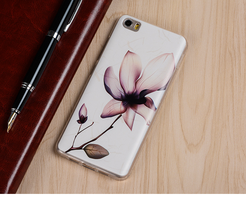 Silicon Case For Xiaomi Mi5/Mi 5/M5 Phone High Quality Protector Painting Back Cover Case Protective Accessories Free Shipping